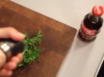 Как да нарежем билки?