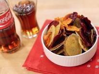 Как да направим зеленчуков чипс?