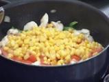 Пилешко гювече с царевичен крем 3