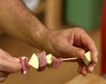 Кебап със свинско и тиквички 3