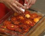 Яйца с домати на фурна 4