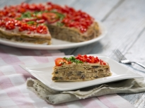 Палачинкова торта с гъбен пастет