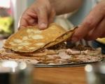 Палачинкова торта с гъбен пастет 16