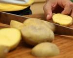 Пълнени картофи с пастет