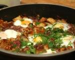 Говеждо с яйца на тиган 7
