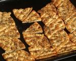Чипс от плоски хлебчета 3