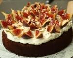 Меден кейк със смокини 8