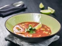 Студена доматена супа с авокадо