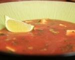 Студена доматена супа с авокадо 5