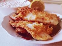 Риба хек със сос