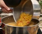 Супа от царевица с печено свинско бонфиле 5