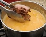Супа от царевица с печено свинско бонфиле 6
