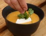 Супа от царевица с печено свинско бонфиле 7