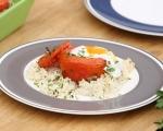 Пълнени домати върху ориз 10