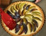 Бадемов тарт със сливи 6