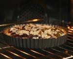 Бадемов тарт със сливи 7