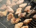 Мариновани пилешки крилца на грил 4