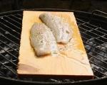 Риба с лайм и риган на дъска 5