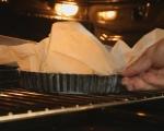 Шоколадов тарт с малини 5