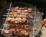 Свински шишчета по грузински 3