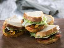 Вегетариански БЛТ сандвич
