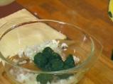 Рибни рулца със спанак и ориз на микровълнова фурна