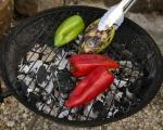 Зеленчуци с козе сирене на фурна 3