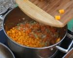 Пилешка супа с тиква и ньоки 8