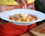Пилешка супа с тиква и ньоки 14