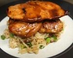 Пилешки гърди на тиган с дългозърнест ориз 8