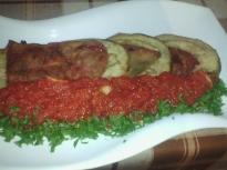 Предястие от домати, патладжан и чушки