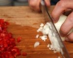Банички с месо и терияки сос