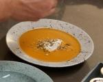 Супа от печени моркови 9