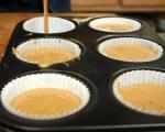 Орехови кексчета с кафе и шоколад 4