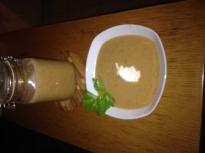 Крем супа от кестени, тиква и кисело ...