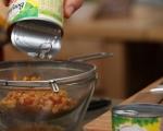 Фритата с царевица и гъби 4