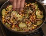 Фритата с царевица и гъби 5