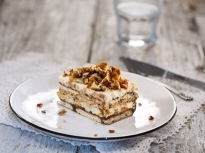 Бисквитена торта с тиква и шоколад