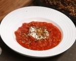 Доматена супа с леща и гранола 7