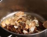 Супа от тиква с горски гъби 4