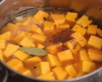 Супа от тиква с горски гъби 6