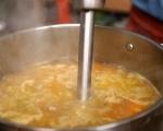 Супа от тиква с горски гъби 7