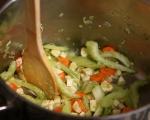 Зеленчукова супа с паста и тофу 3