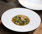 Зеленчукова супа с паста и тофу 8