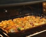 Картофи с праз на фурна 3