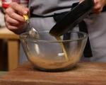 Печен крем с ябълки и орехи