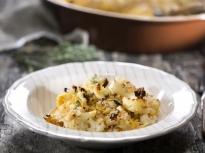 Гратен с карфиол и картофи