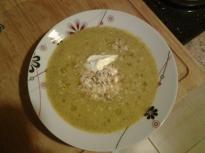 Супа с броколи и бекон