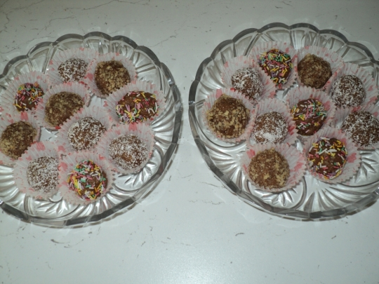 Домашни бисквитени бонбони