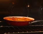 Печен качамак с доматен сос 6